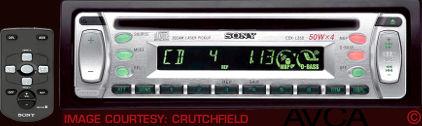 Sony CDXL350