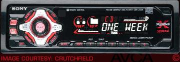 Sony CDXL550X