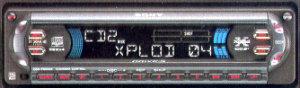 Sony CDXF5005X