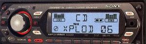 Sony CDXGT400