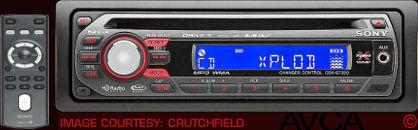 Sony CDXGT320