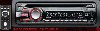 Sony CDXGT430U