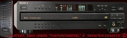 Sony CDPCA8ES