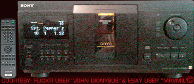 Sony CDPCX90ES