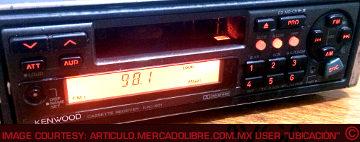 Kenwood KRC801