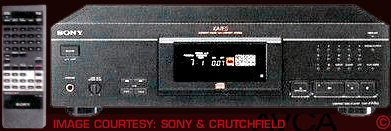 Sony CDPXA7ES