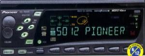 Pioneer DEHP86DHR