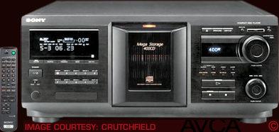 Sony CDPCX400