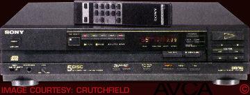 Sony CDPC5F