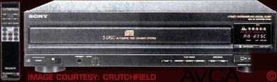 Sony CDPC500
