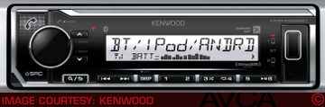 Kenwood KMRM322BT