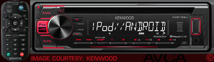 Kenwood KDC168U