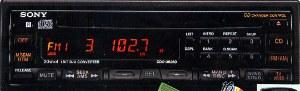 Sony CDXU6260