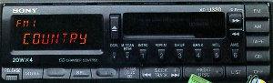 Sony XRU330