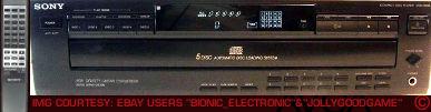 Sony CDPC425