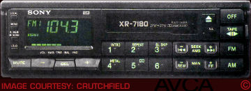 Sony XR7180