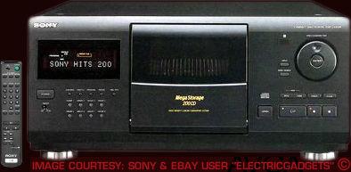 Sony CDPCX200