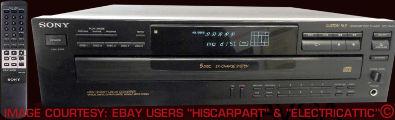 Sony CDPC445