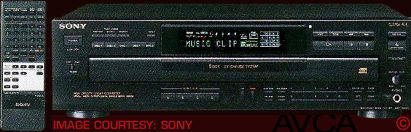 Sony CDPC545