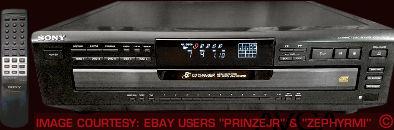 Sony CDPCE405