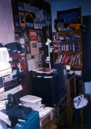 A photo of my bedroom in Patchogue, no longer stashed in a box but a CD-ROM.