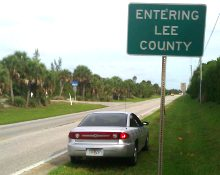 The Boca Grande Causeway is the only road in or out. Driving to other parts of Lee County takes a 30 mile detour.