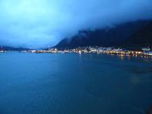 Juneau at night