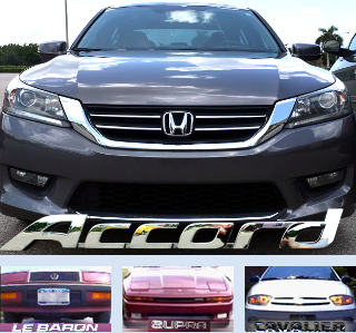 A Honda Accord joins the lineup