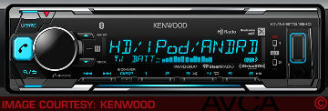 Kenwood KMMBT518HD