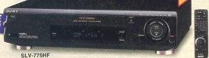 Sony SLV775HF
