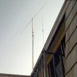 Dipole on balcony